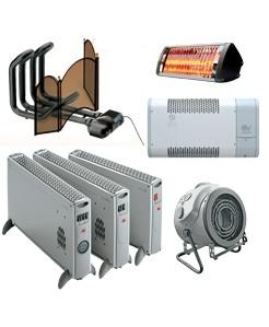 Vortice Elektrische Kachels, Verwarmingsapparatuur