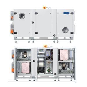 Vortvent Komfovent VERSO-RHP unit met warmtewiel en ingebouwde DX warmtepomp