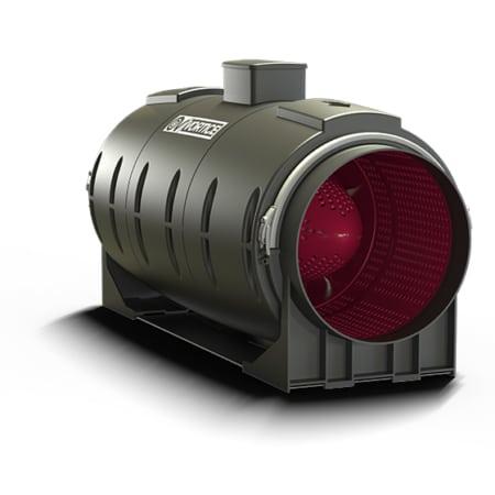 Vortice Lineo Quiet energiezuinige en stille inbouwventilator met AC motor